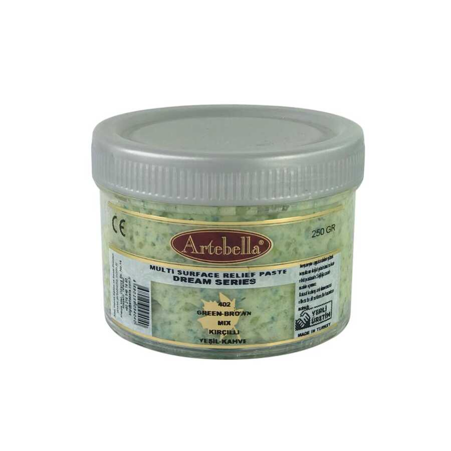 artebella dream serisi multi rolyef pasta 402 sari kahve kircilli 250 gr 597461 14 B -Artebella Art & Craft Hobi ve Sanat Ürünleri