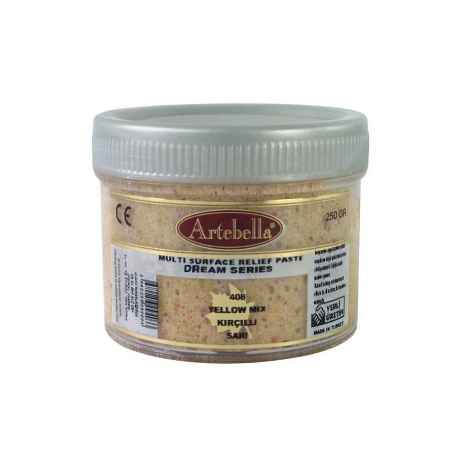 artebella dream serisi multi rolyef pasta 408 sari kircilli 250 gr 610169 14 B -Artebella Art & Craft Hobi ve Sanat Ürünleri
