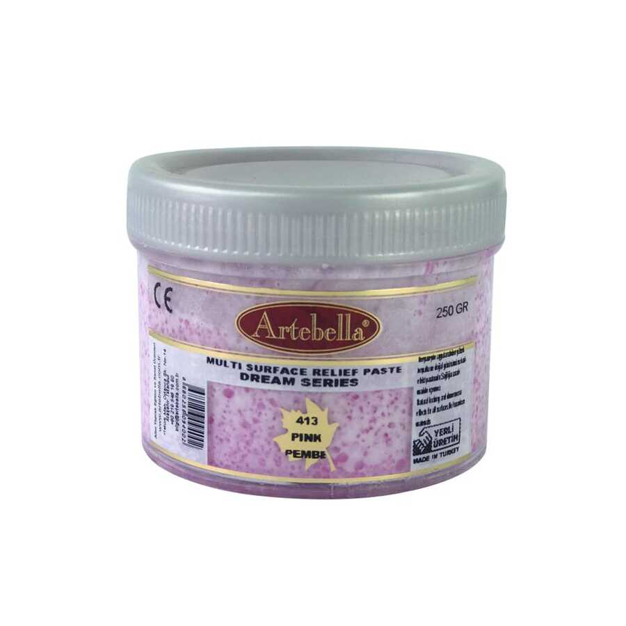 artebella dream serisi multi rolyef pasta 415 kirmizi 250 gr 14526 597466 14 B