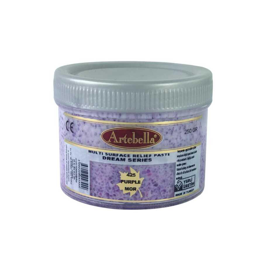 artebella dream serisi multi rolyef pasta 425 mor 250 gr 597468 14 B