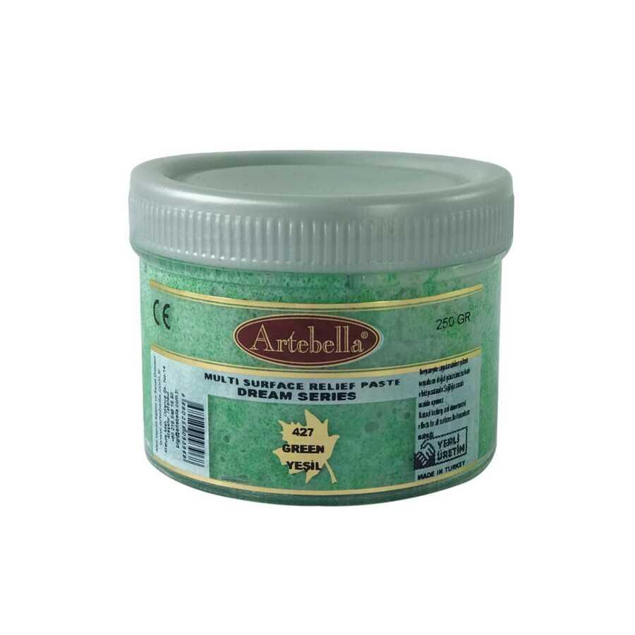 artebella dream serisi multi rolyef pasta 427 yesil 250 gr 597470 14 B