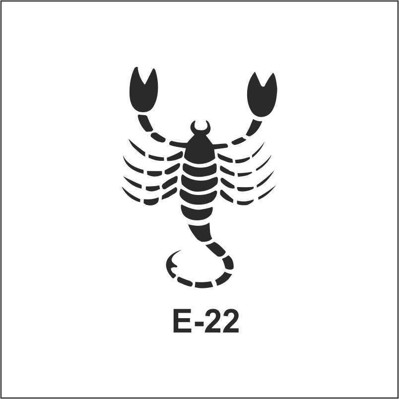 artebella e serisi stenciller e 22 602313 70 B