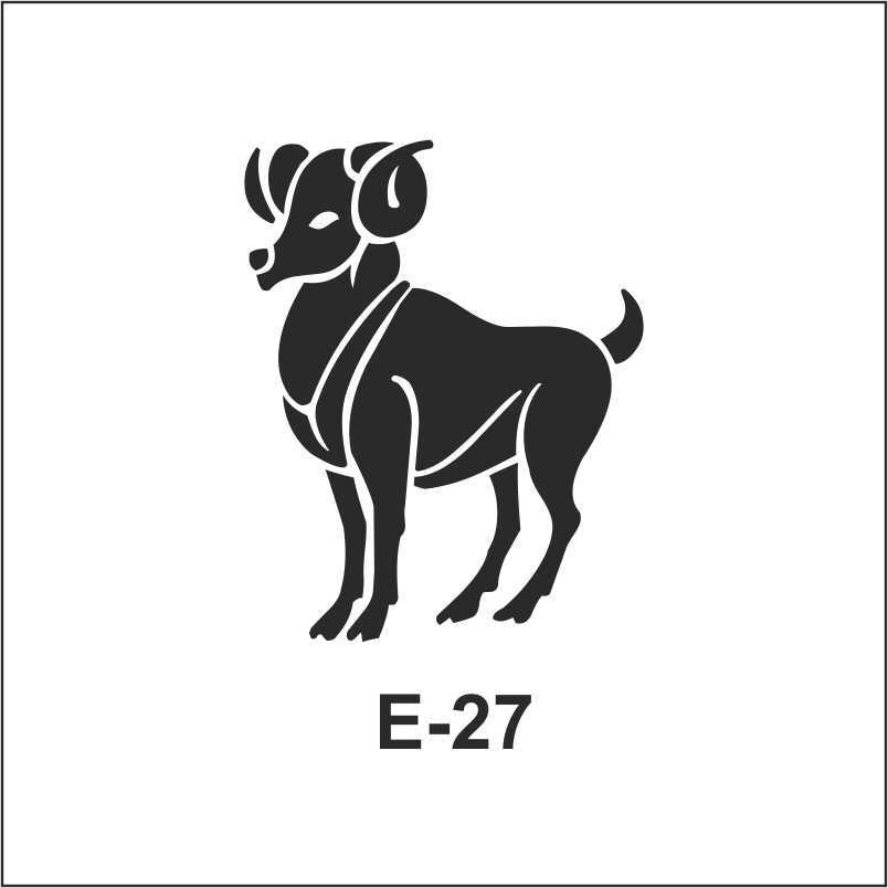 artebella e serisi stenciller e 27 610599 70 B