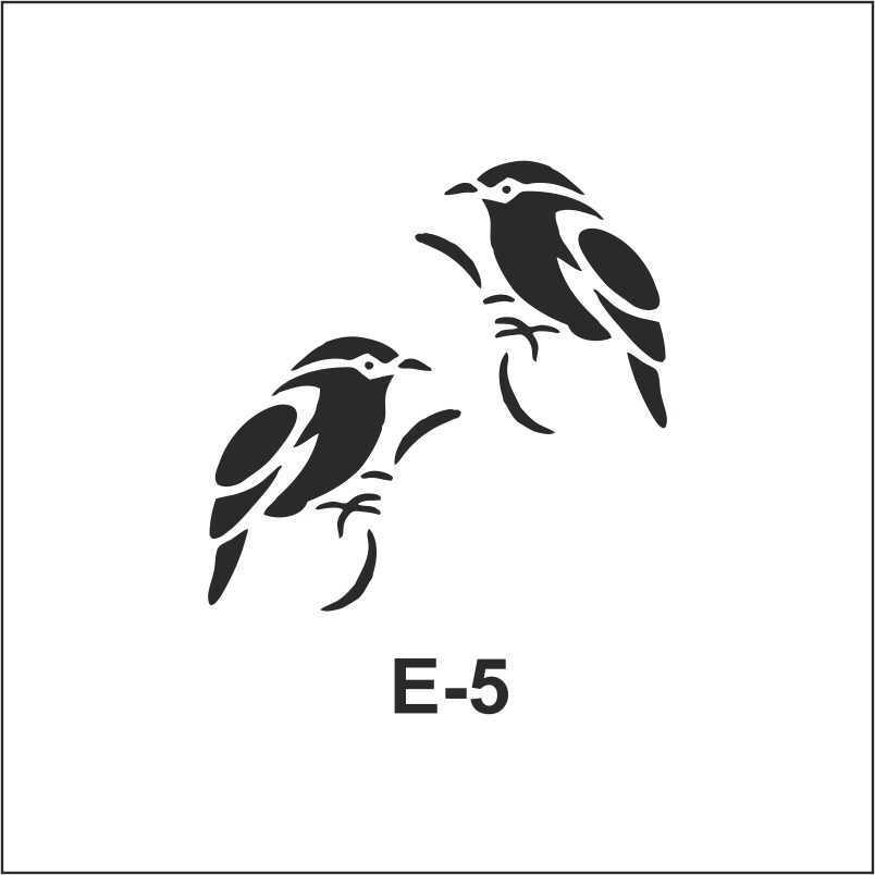 artebella e serisi stenciller e 5 609184 68 B