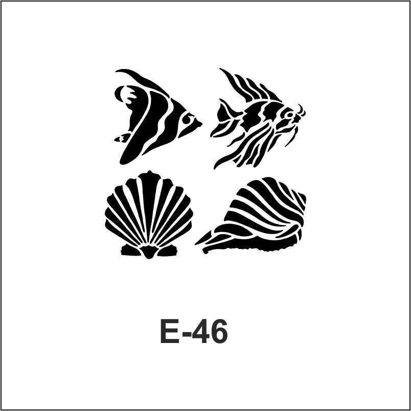 artebella e serisi stenciller e 55 stencil 10x10cm 18 602455 37 B