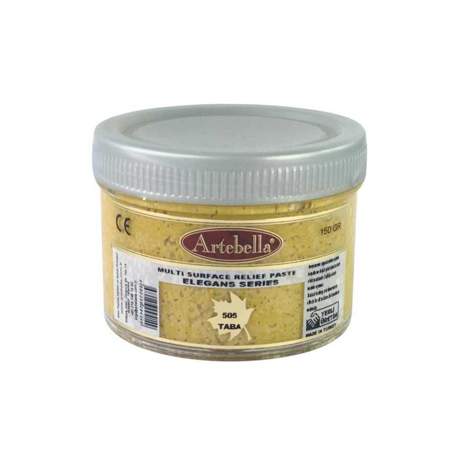 artebella elegans serisi multi rolyef pasta 505 taba 150 gr 597449 14 B -Artebella Art & Craft Hobi ve Sanat Ürünleri