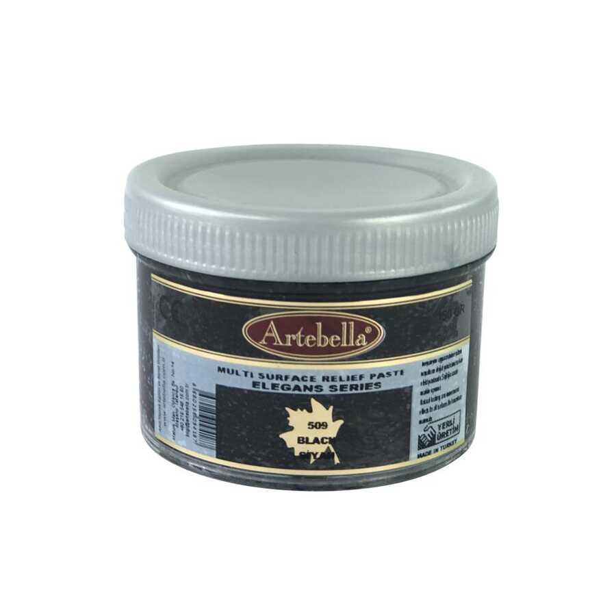 artebella elegans serisi multi rolyef pasta 509 siyah 150 gr 597457 14 B -Artebella Art & Craft Hobi ve Sanat Ürünleri