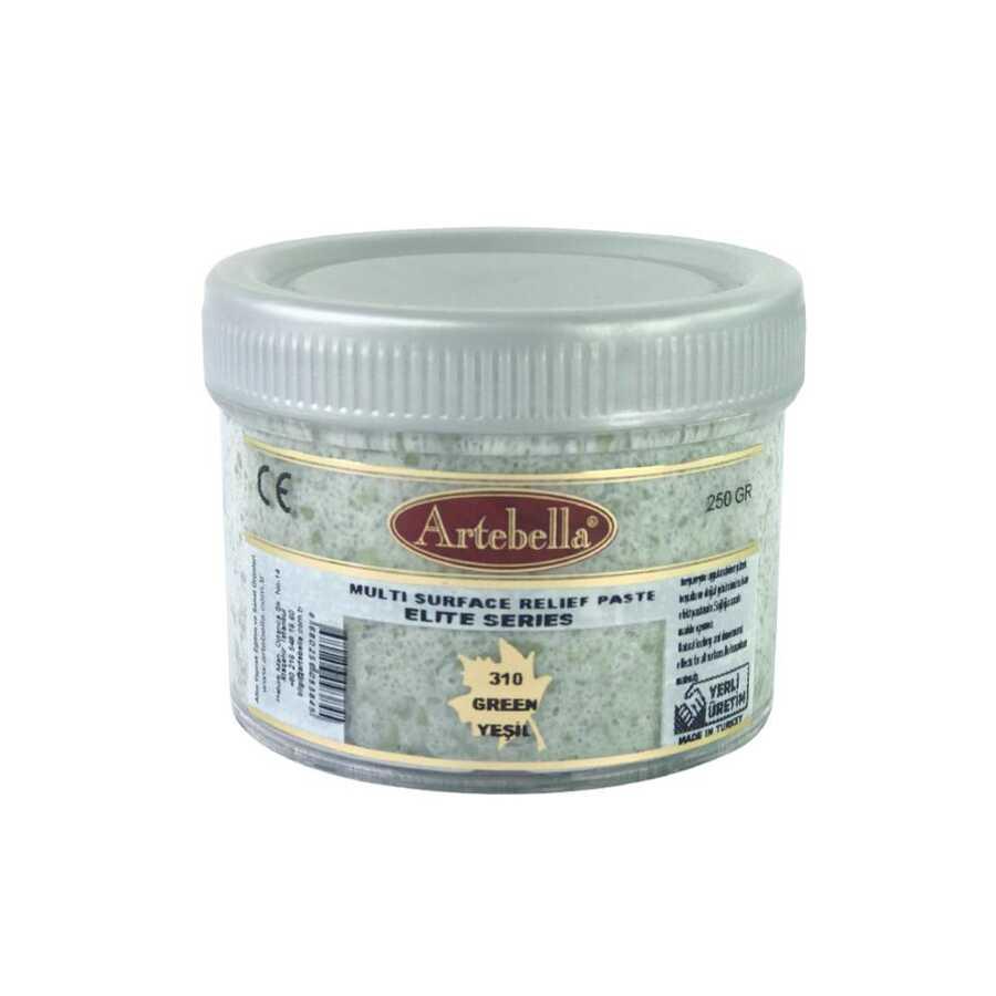 artebella elite serisi multi rolyef pasta 310 yesil 250 gr 597482 14 B -Artebella Art & Craft Hobi ve Sanat Ürünleri