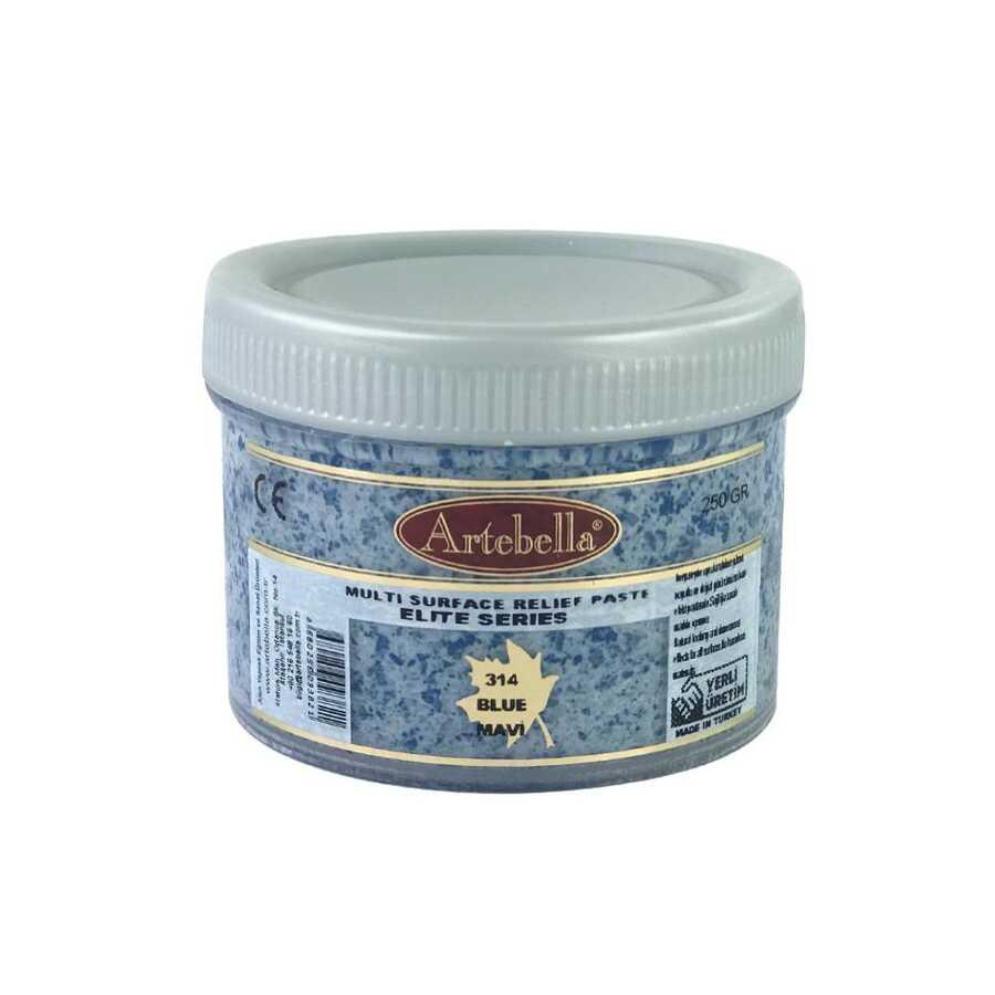 artebella elite serisi multi rolyef pasta 314 mavi 250 gr 597486 14 B