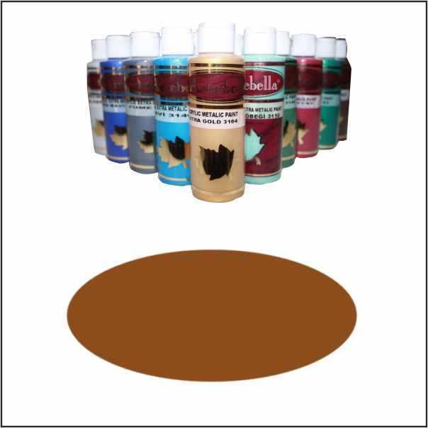 artebella extra metalik boya 3148 cikolata 130 cc 597954 15 B -Artebella Art & Craft Hobi ve Sanat Ürünleri