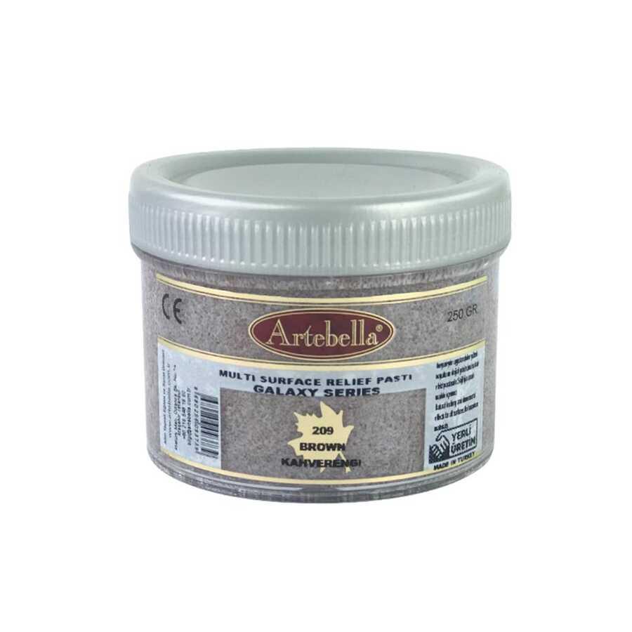 artebella galaxy serisi multi rolyef pasta 209 kahverengi 250 gr 597490 14 B -Artebella Art & Craft Hobi ve Sanat Ürünleri
