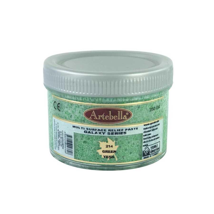 artebella galaxy serisi multi rolyef pasta 214 yesil 250 gr 597496 14 B -Artebella Art & Craft Hobi ve Sanat Ürünleri