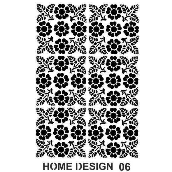 artebella home design stencil 35x50 cm hds05 609536 14 B -Artebella Art & Craft Hobi ve Sanat Ürünleri