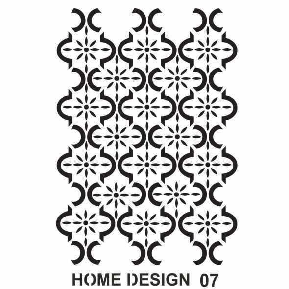 artebella home design stencil 35x50 cm hds06 597362 14 B -Artebella Art & Craft Hobi ve Sanat Ürünleri