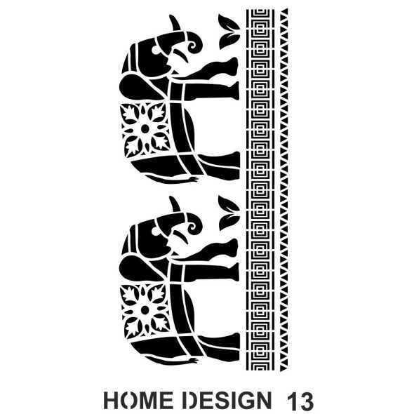 artebella home design stencil 35x50 cm hds12 597374 14 B -Artebella Art & Craft Hobi ve Sanat Ürünleri