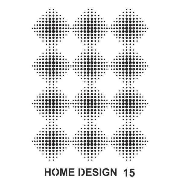 artebella home design stencil 35x50 cm hds14 597378 14 B -Artebella Art & Craft Hobi ve Sanat Ürünleri