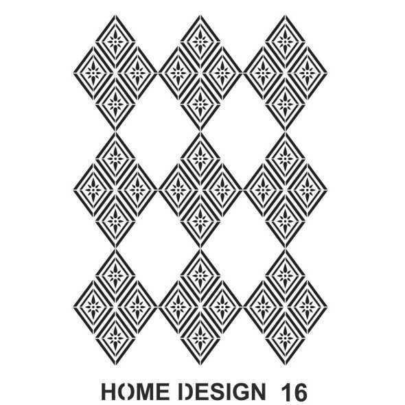 artebella home design stencil 35x50 cm hds15 609538 14 B -Artebella Art & Craft Hobi ve Sanat Ürünleri
