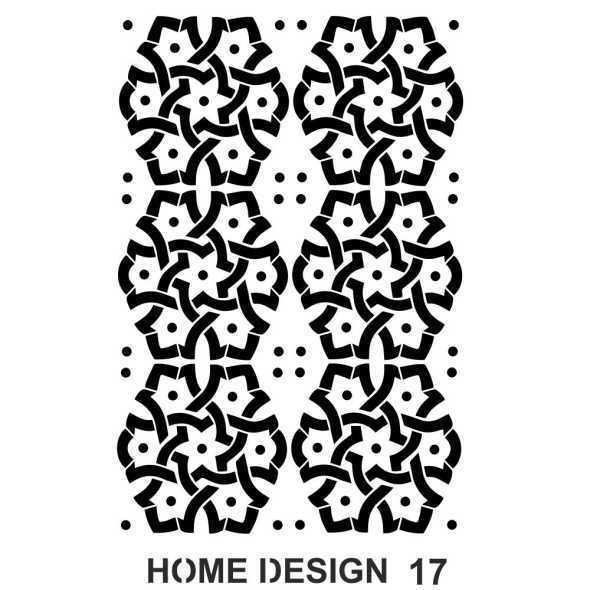 artebella home design stencil 35x50 cm hds16 597380 14 B -Artebella Art & Craft Hobi ve Sanat Ürünleri