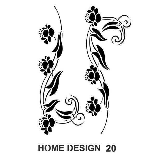 artebella home design stencil 35x50 cm hds19 610525 14 B