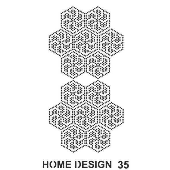artebella home design stencil 35x50 cm hds34 597410 14 B -Artebella Art & Craft Hobi ve Sanat Ürünleri
