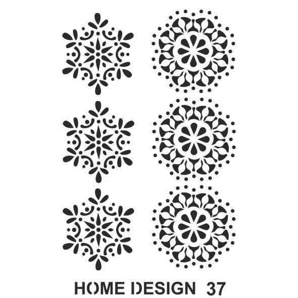 artebella home design stencil 35x50 cm hds36 611679 14 B -Artebella Art & Craft Hobi ve Sanat Ürünleri