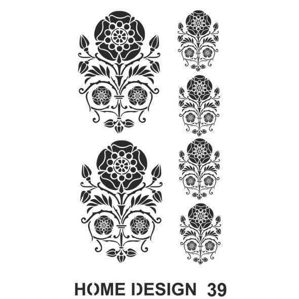 artebella home design stencil 35x50 cm hds38 597416 14 B -Artebella Art & Craft Hobi ve Sanat Ürünleri