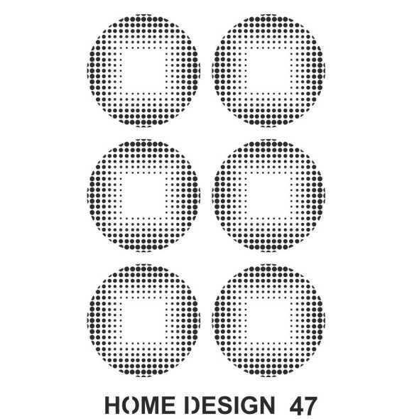 artebella home design stencil 35x50 cm hds46 597432 14 B -Artebella Art & Craft Hobi ve Sanat Ürünleri