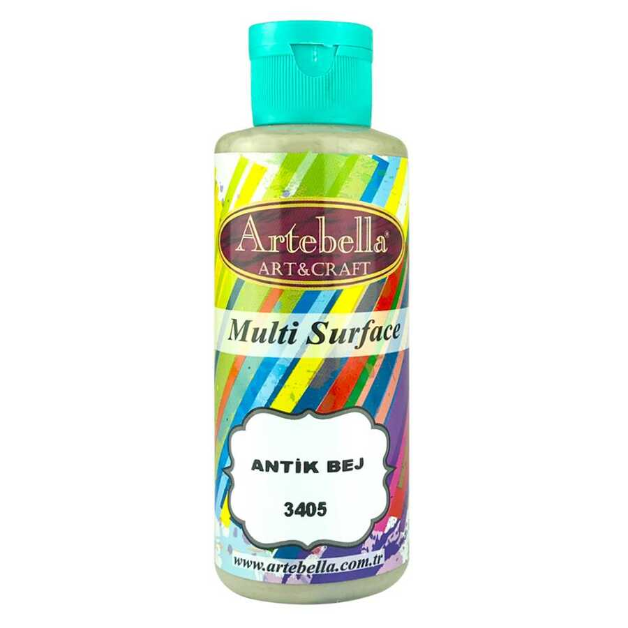 artebella multi surface 130cc antik bej 3405 597731 13 B -Artebella Art & Craft Hobi ve Sanat Ürünleri