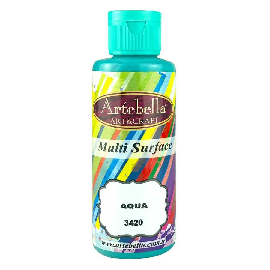 artebella multi surface 130cc aqua 3420 597705 13 B -Artebella Art & Craft Hobi ve Sanat Ürünleri