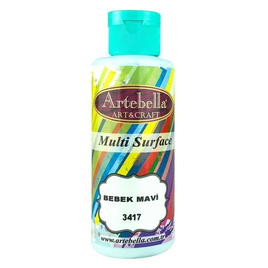 artebella multi surface 130cc bebek mavi 3417 597711 13 B -Artebella Art & Craft Hobi ve Sanat Ürünleri