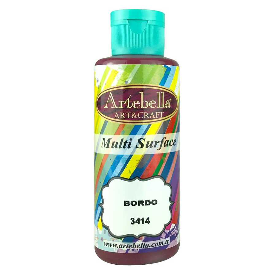 artebella multi surface 130cc bordo 3414 597717 13 B -Artebella Art & Craft Hobi ve Sanat Ürünleri