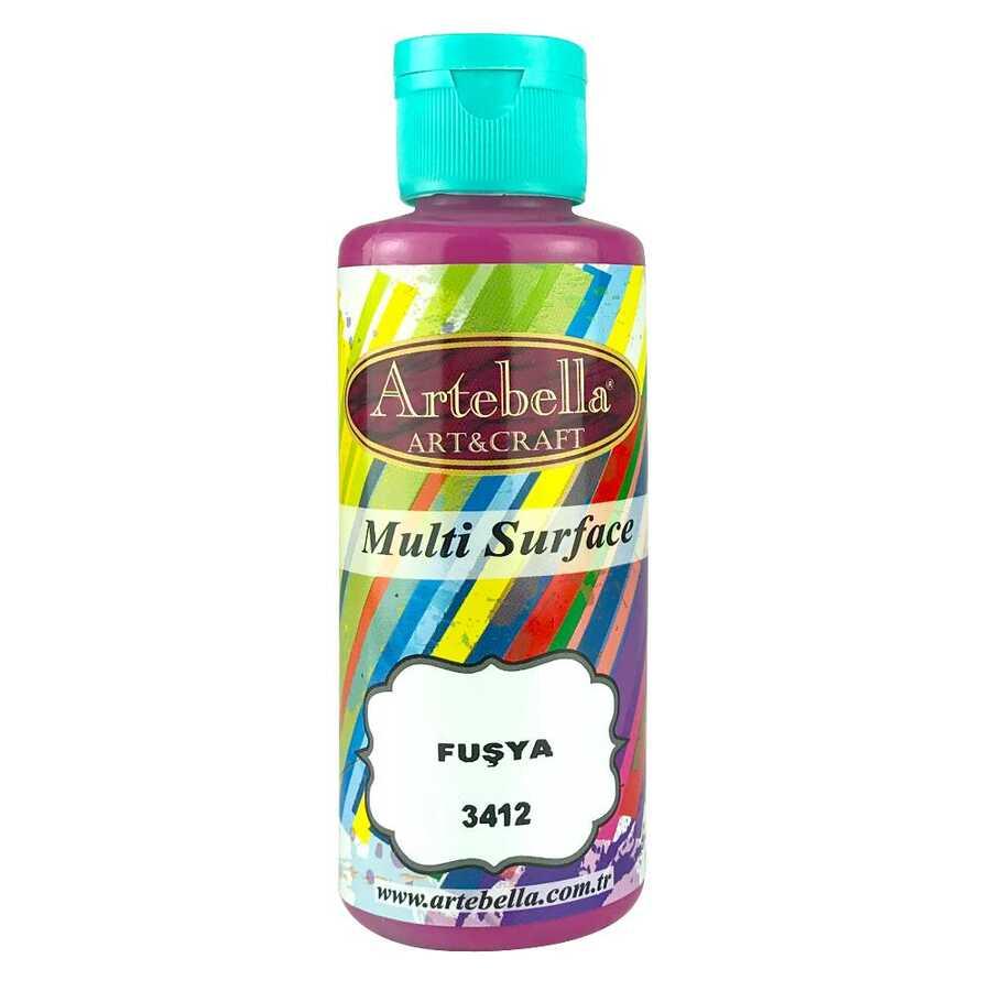 artebella multi surface 130cc fusya 3412 597721 13 B -Artebella Art & Craft Hobi ve Sanat Ürünleri