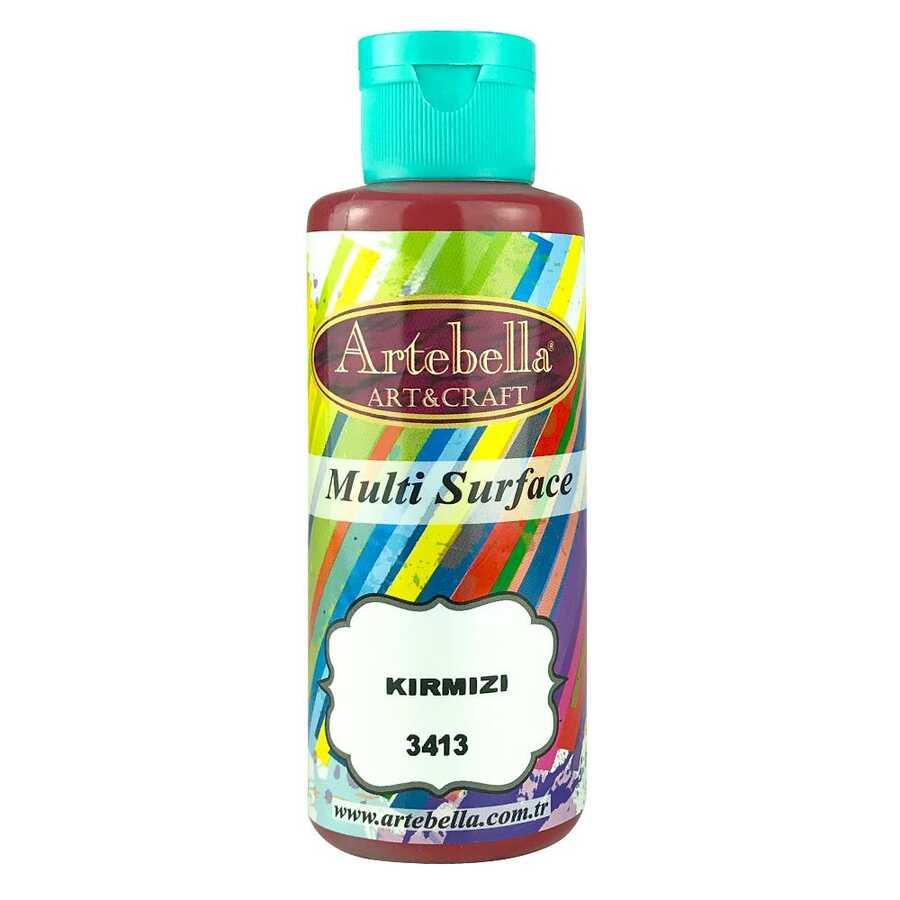 artebella multi surface 130cc kirmizi 3413 597719 13 B -Artebella Art & Craft Hobi ve Sanat Ürünleri