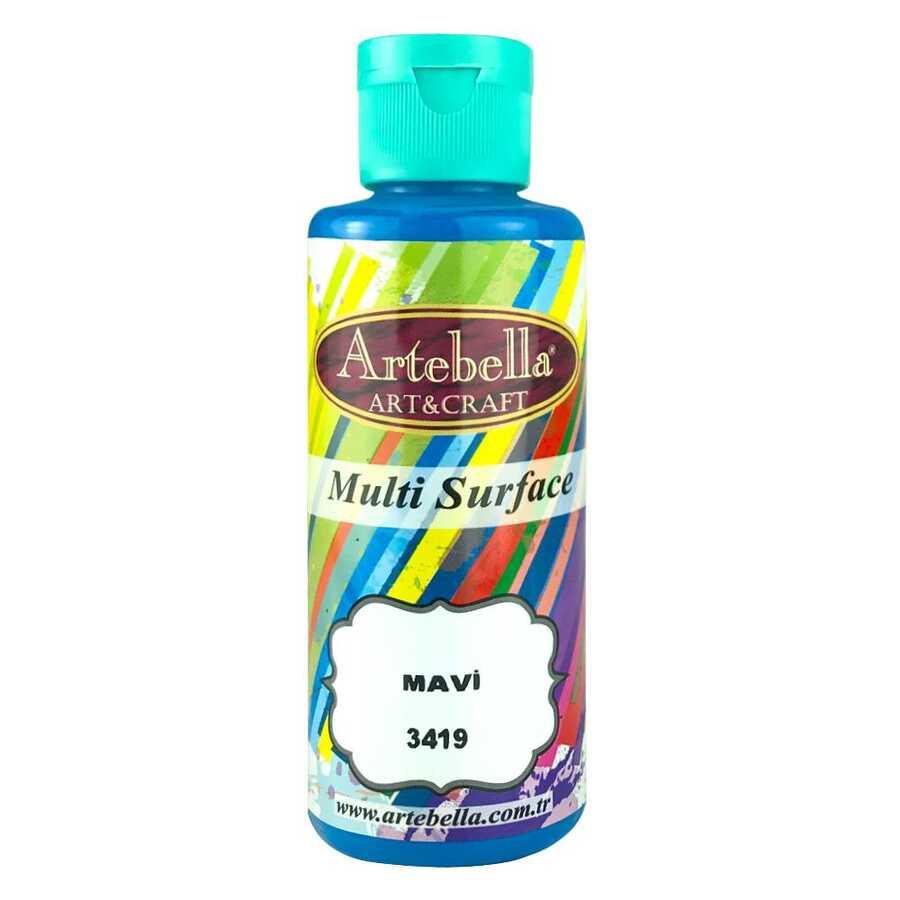 artebella multi surface 130cc mavi 3419 597707 13 B -Artebella Art & Craft Hobi ve Sanat Ürünleri