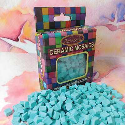artebella seramik mozaik 6906 turkuaz 8x8 mm 609460 12 B