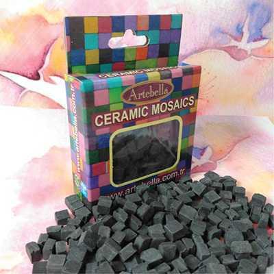 artebella seramik mozaik 6912 siyah 8x8 mm 610012 12 B -Artebella Art & Craft Hobi ve Sanat Ürünleri