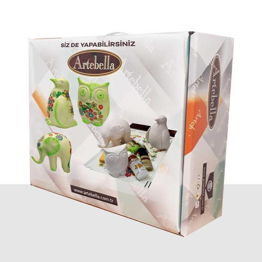 artebella sizde yapabilirsiniz seti 3 kafadarlar seramik biblosy062 611976 39 B