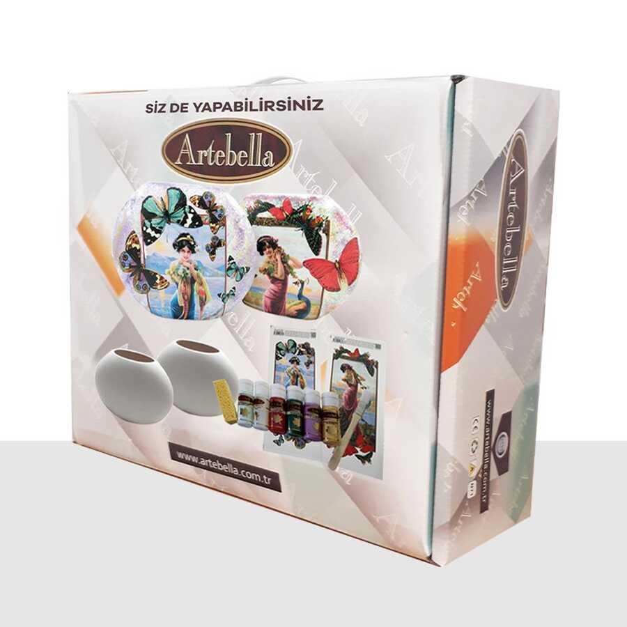 artebella sizde yapabilirsiniz seti elis vazo takimi sy094 611723 12 B -Artebella Art & Craft Hobi ve Sanat Ürünleri