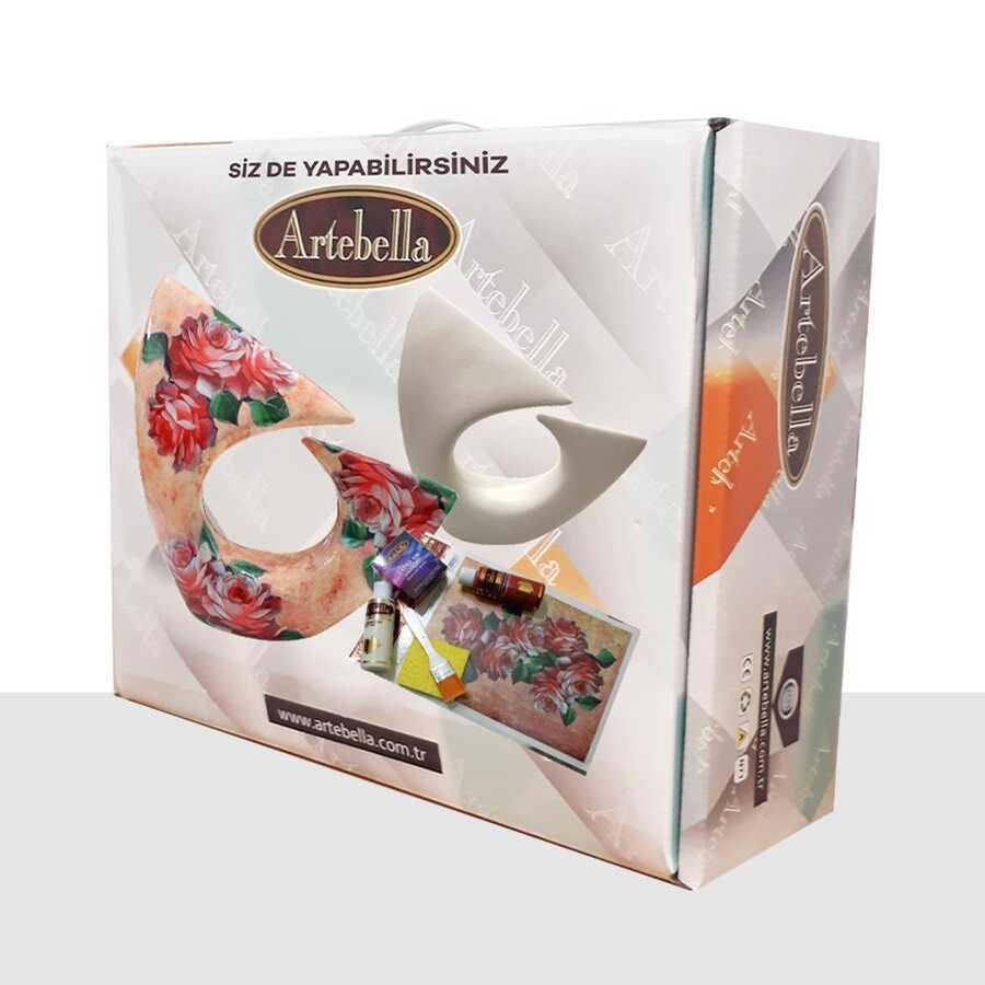 artebella sizde yapabilirsiniz seti pinar seramik obje sy067 611983 39 B -Artebella Art & Craft Hobi ve Sanat Ürünleri