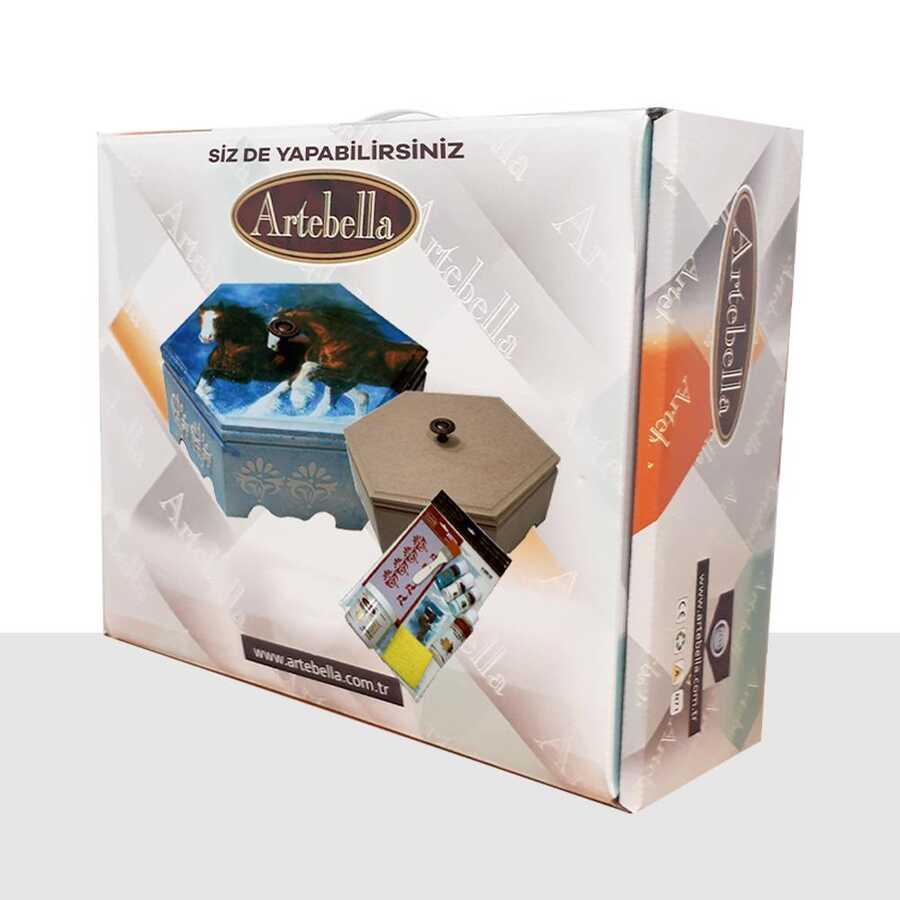 artebella sizde yapabilirsiniz seti sedefkari ahsap kutu sy053 2 611992 39 B -Artebella Art & Craft Hobi ve Sanat Ürünleri