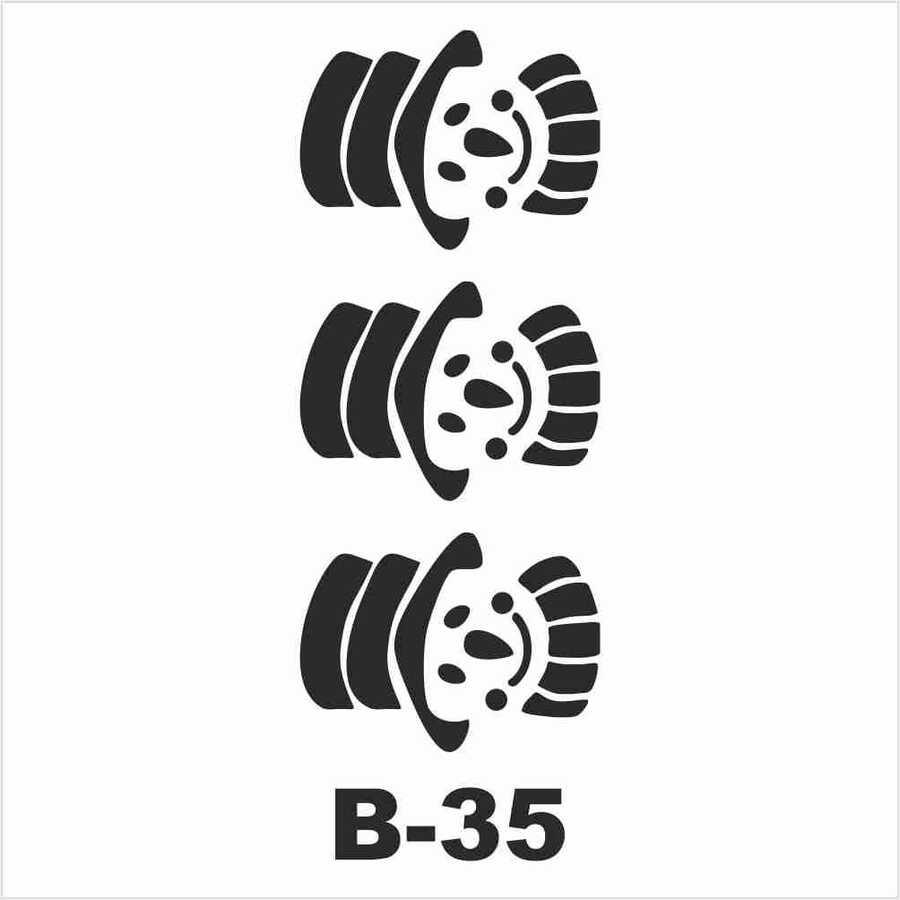b 35 artebella stencil 10x20 cm 610827 14 B