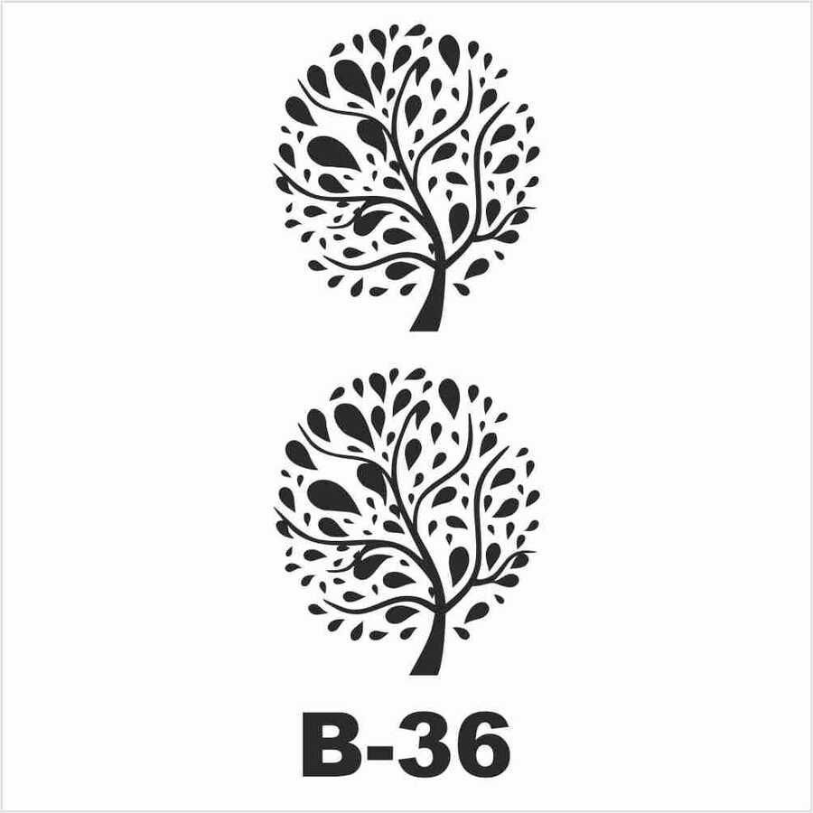 b 36 artebella stencil 10x20 cm 597033 14 B