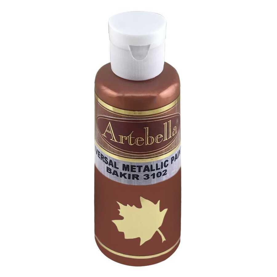 bakir metalik boya 130 cc 606961 55 B -Artebella Art & Craft Hobi ve Sanat Ürünleri