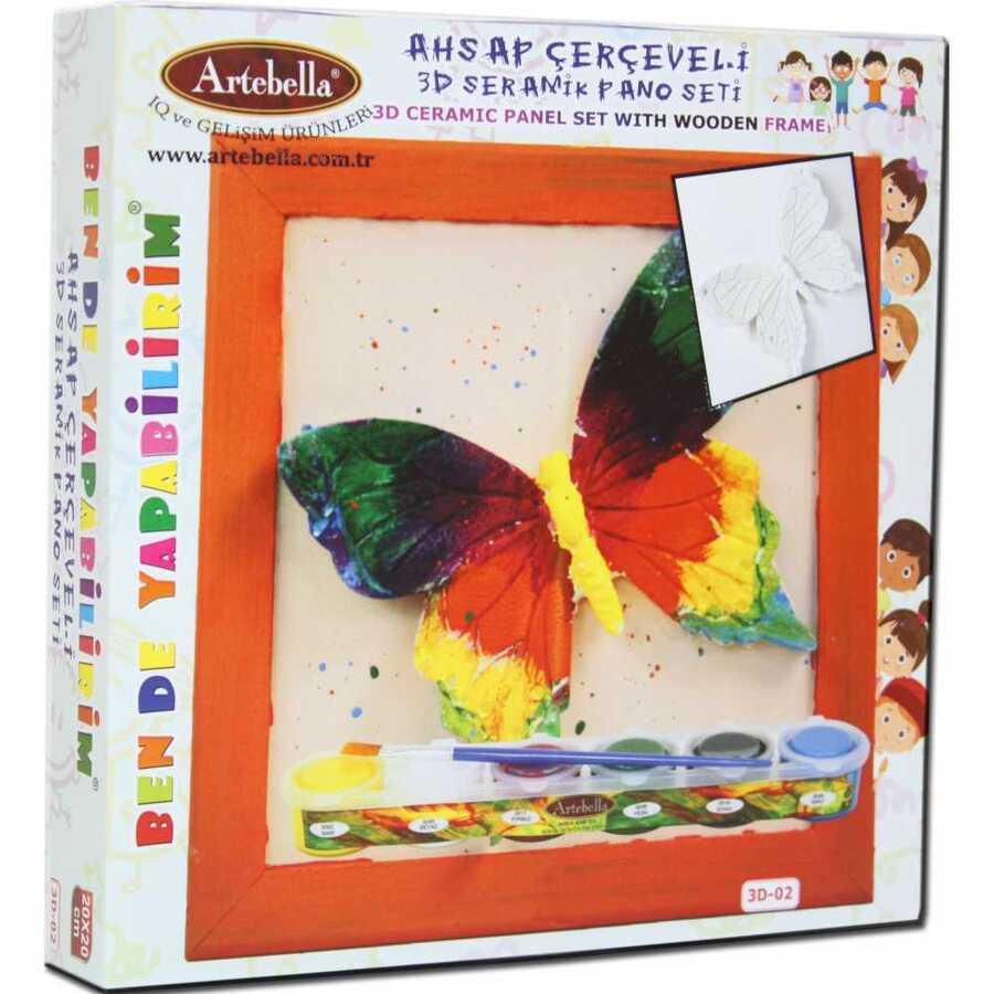 ben de yapabilirim 3d seramik pano setleri 3d 14405 609951 14 B -Artebella Art & Craft Hobi ve Sanat Ürünleri