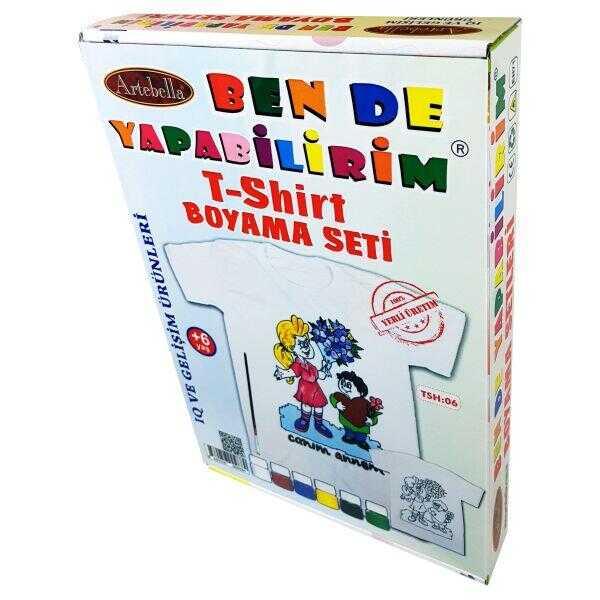 ben de yapabilirim t shirt boyama seti tsh 06 598216 14 B