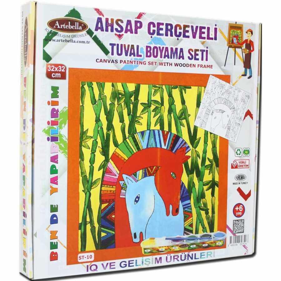 ben de yapabilirim tuval boya set akrilik boya 32x32 st 10 598340 14 B -Artebella Art & Craft Hobi ve Sanat Ürünleri