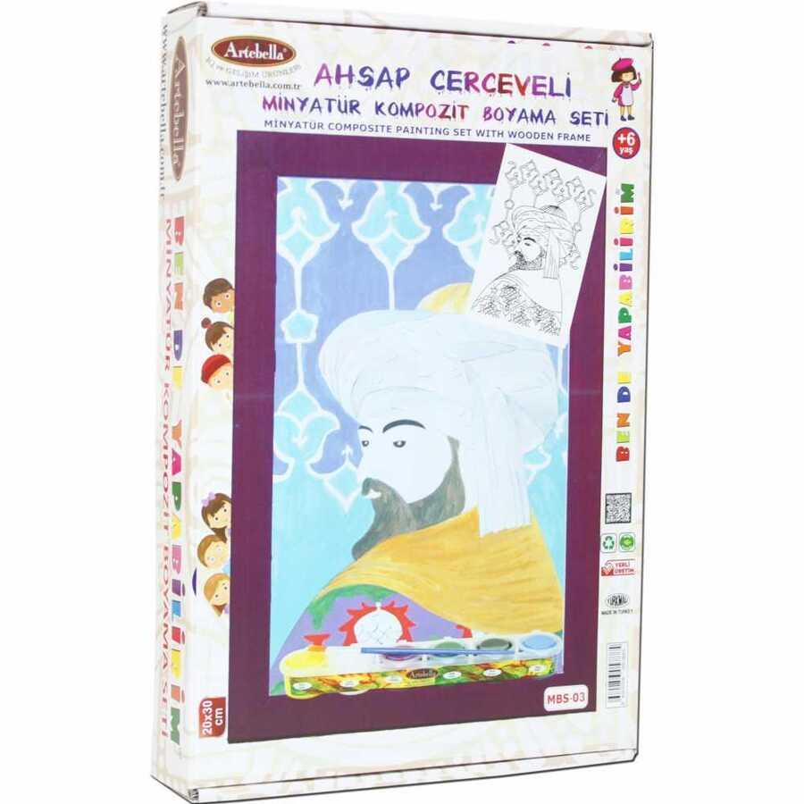 bende yapabilirim minyatur kompozit boyama seti mbs 03 609921 14 B -Artebella Art & Craft Hobi ve Sanat Ürünleri