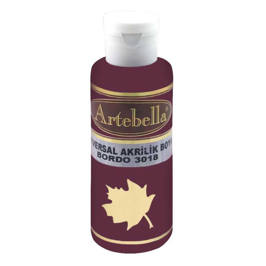 bordo opak boya 130 cc 609145 10 B -Artebella Art & Craft Hobi ve Sanat Ürünleri