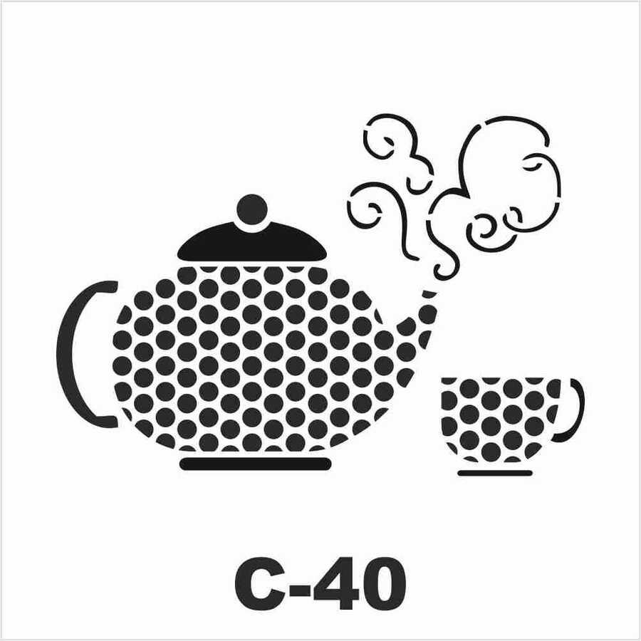 c 40 artebella stencil 15x20 cm 609606 14 B