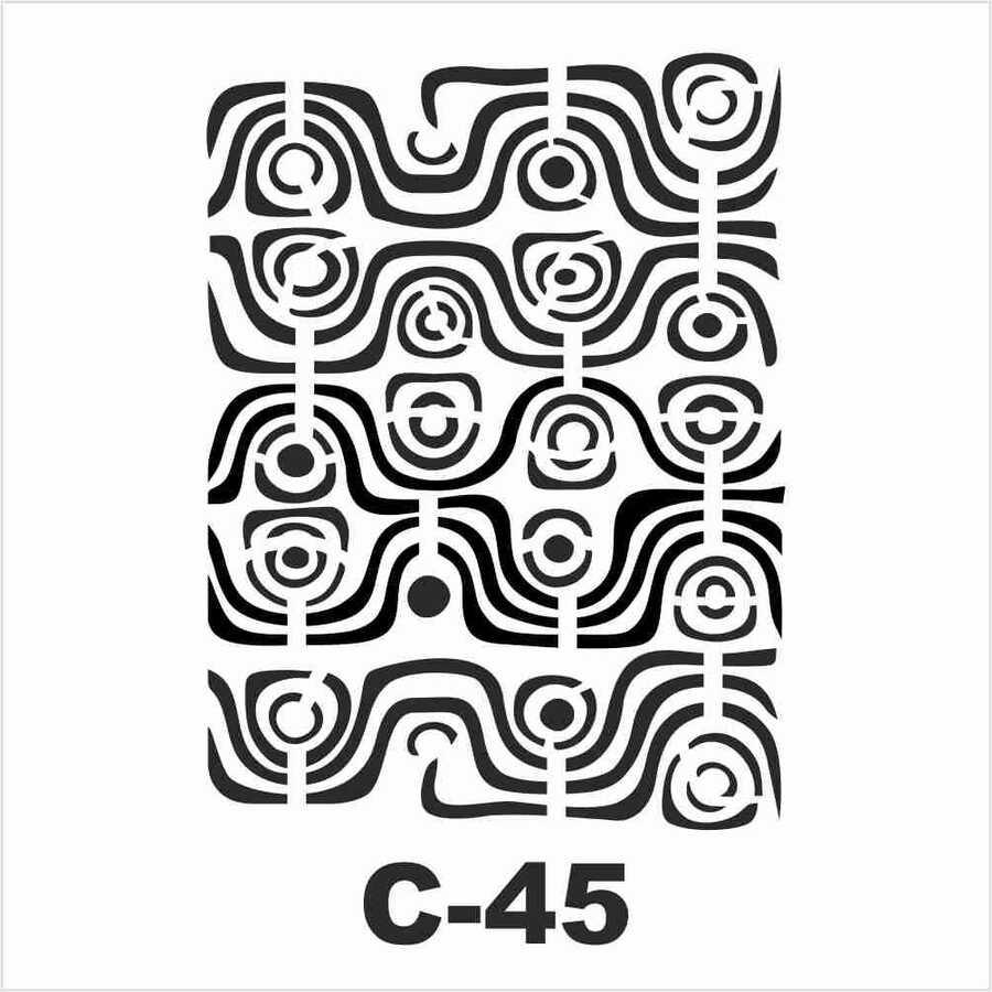 c 45 artebella stencil 15x20 cm 597043 14 B